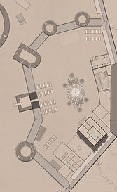 Princes Palace. Digital tabltop RPG game map inspird by the Malazan books of the fallen. Jacob Gamm