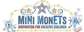 Mini Monets UK logo Childrens art and education