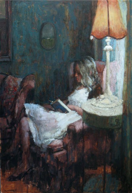 Reading by the Lamp