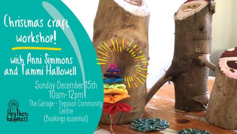 Free Workshop: Christmas Crafts!
