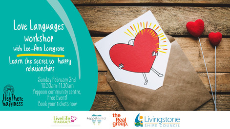 Free Workshop: Love Languages!