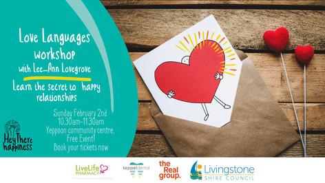 Free Workshop: Love Languages!