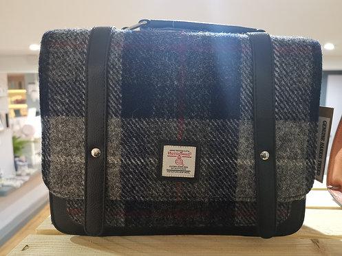 Genuine Harris Tweed Blue Mini Messenger Bag