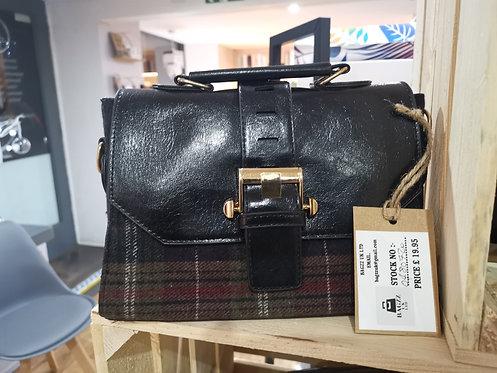 Brown Tartan Ladies Handbag