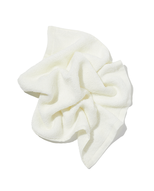 Bamboo face cloth - white
