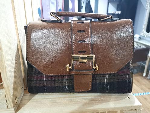 Blue Tartan Ladies Handbag