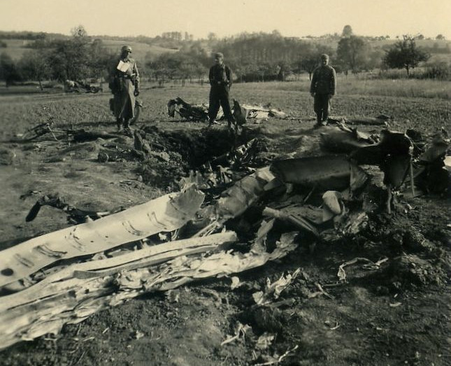 Spitfire wreck