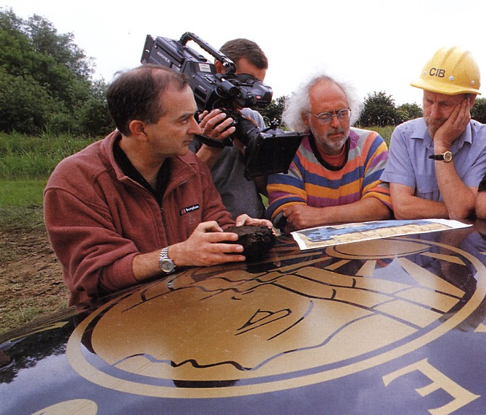 The 'Time Team' at work