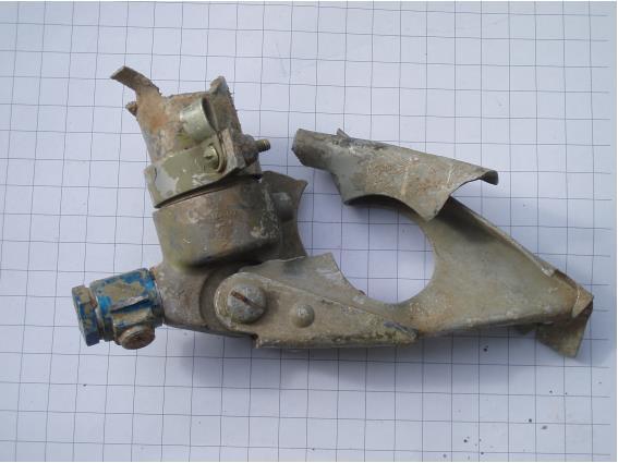 Pneumatic or hydaulic actuator part.