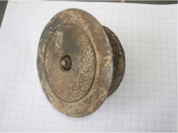 Carburetor dump valve, one of three located under the engine.