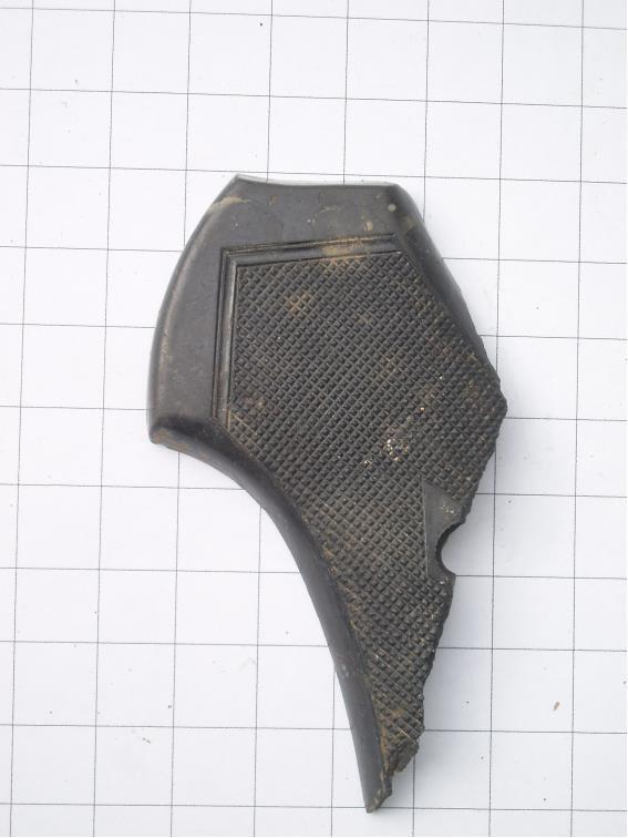 Part of a Webley flare pistol grip, more British equipment.