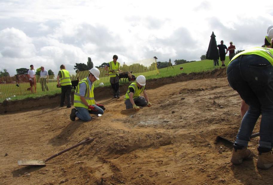 Hurricane N2608 excavation