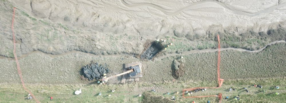 Hurricane P3966 beginning the dig.jpg