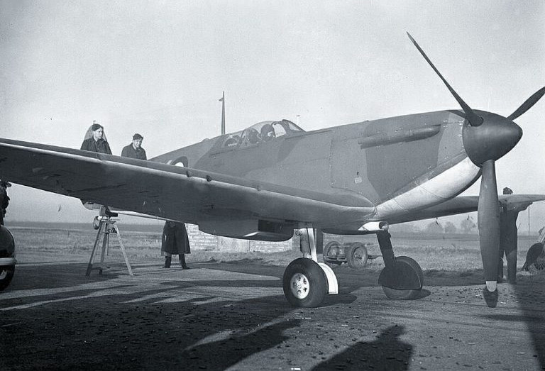 Spitfire Mk 1 P9373