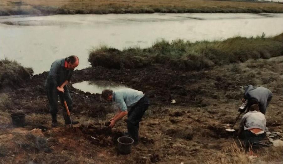 Hurricane P3966 site at Fobbing Marsh 19