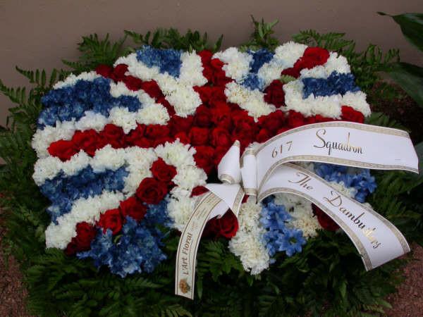 617 Squadron wreath
