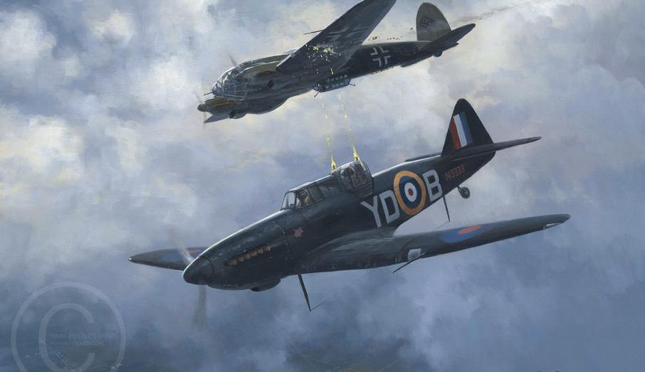 Mark Postlethwaite's painting on N3333