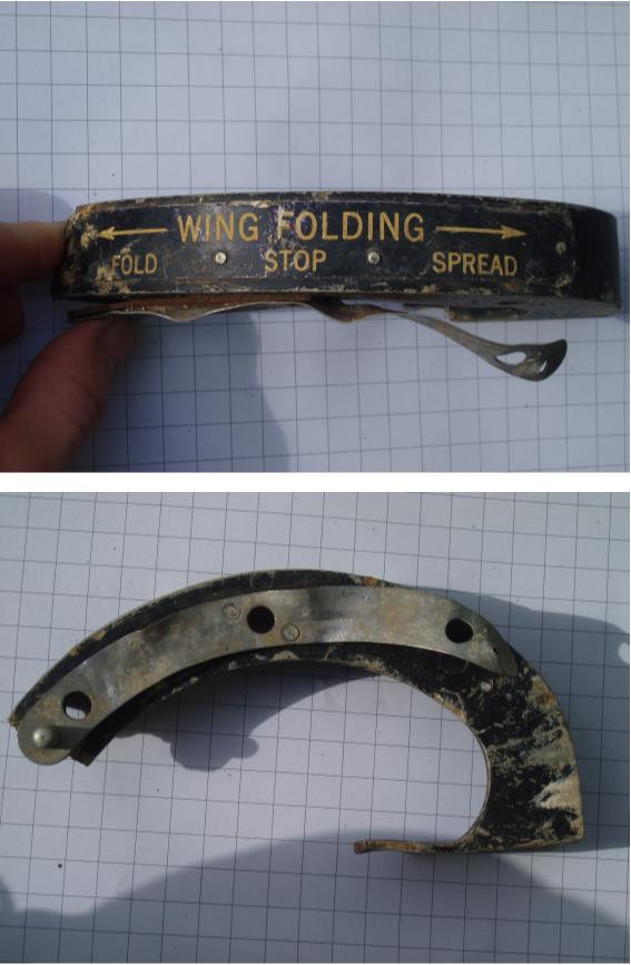 Wing folding control.