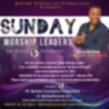 Akiva McClam Sunday Worship Leader 2020.