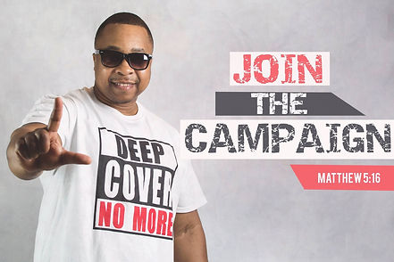 Deep Cover NO MORE T-shirt Join The Camp