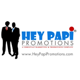 Hey Papi Promotions Logo with website.pn