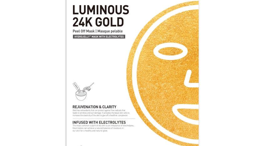 Esthemax™ HYDROJELLY MASK - LUMINOUS 24K GOLD