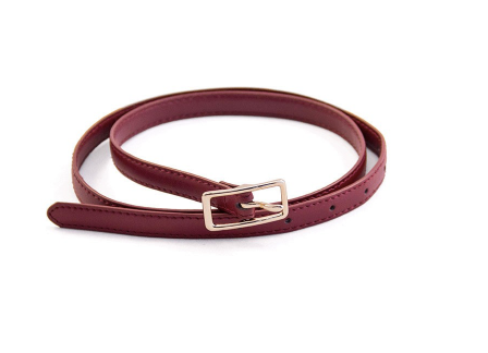 Female Leadership Belt: Red