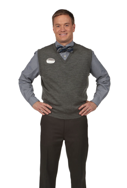 Blackstone V-Neck Vest: Charcoal