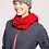 Thumbnail: Towson Rib Knit Infinity Scarf