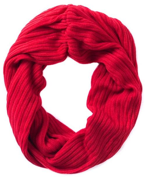 Towson Rib Knit Infinity Scarf