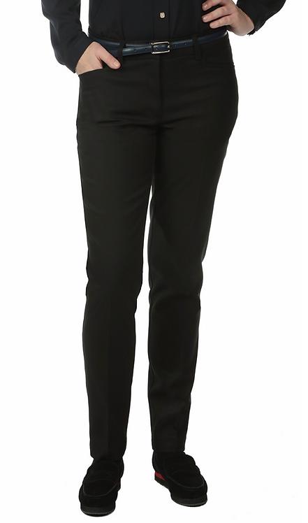 Female Delran Slim Pant: Black