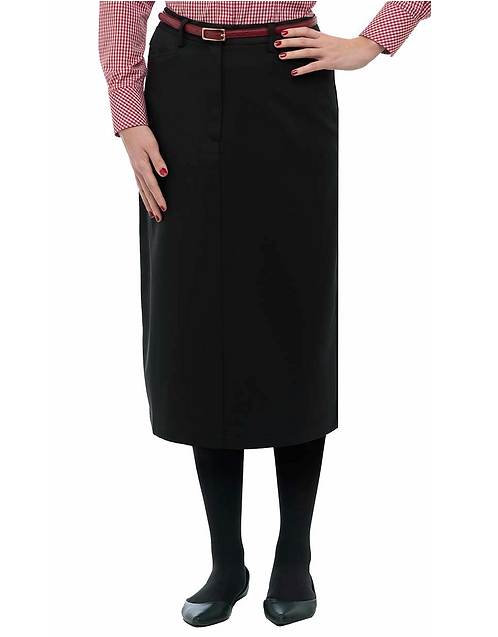 Female Belleview Skirt: Black