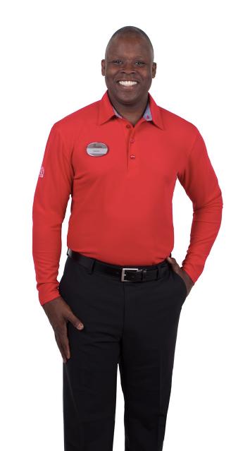 Unisex Howell Long Sleeve Polo