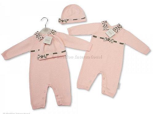 Nursery Time - Pink Knit 2 Piece