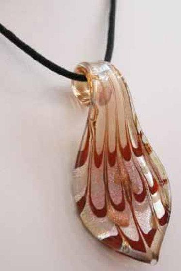 murano glass handblown glass pendant
