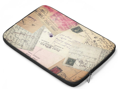 Laptop Bag -Postcards