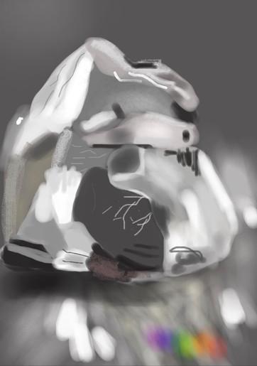 חתיכת זכוכית שבורה