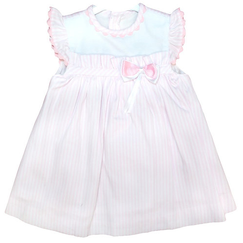 Baby Ferr - Pink Pinafore Dress
