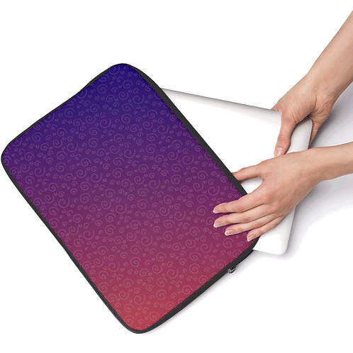 Laptop Bag - 2Tone Swirls