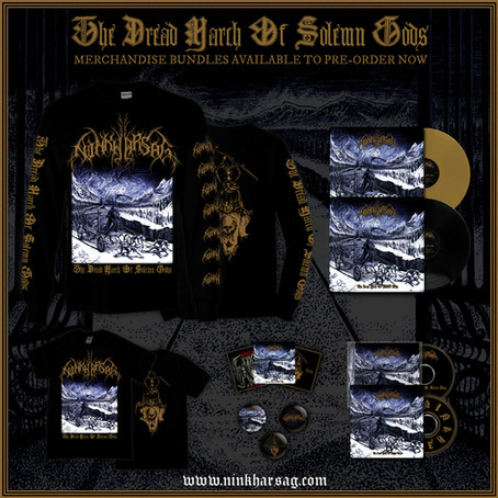 Pre-order The Dread March Of Solemn Gods now!