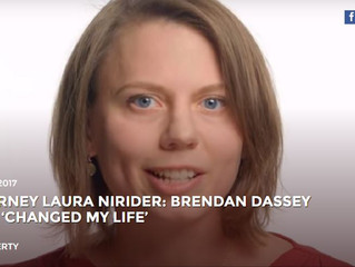 """BRENDAN DASSEY CHANGED MY LIFE"""
