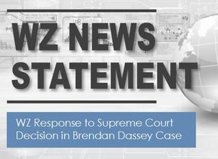 WZ Response to Supreme Court Decision in Brendan Dassey Case
