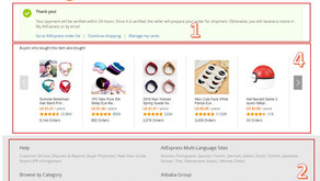 How to model your store's thank you page after AliExpress