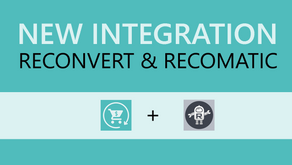 Display Smart Product Recommendations with the New Recomatic + Reconvert Integration