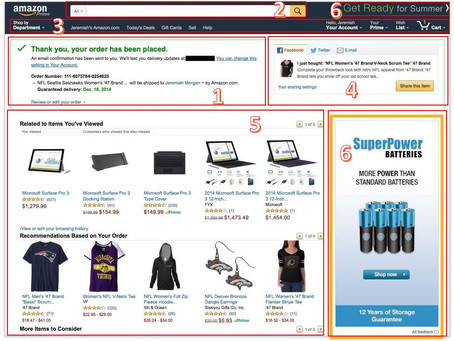 How to model your store's thank you page like Amazon