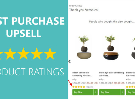 NEW: Display product reviews on your thank you page!