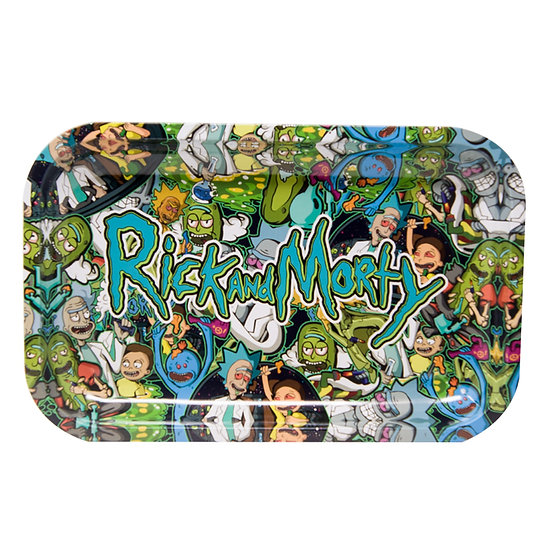 Rick & Morty Rolling Trays - Large