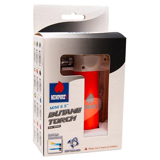 Newport Zero Mini 5.5 Inches Orange Butane Torch