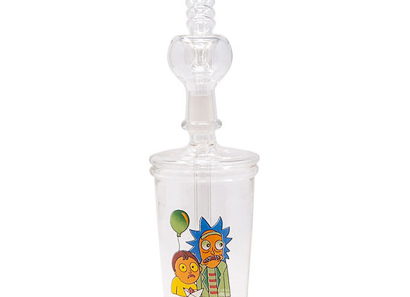 """Rick And Morty 8"""" Assorted Glass Bongs"""