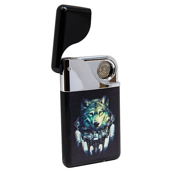 Graphic Design Black CannaTonik USB Rechargable Electronic Lighter
